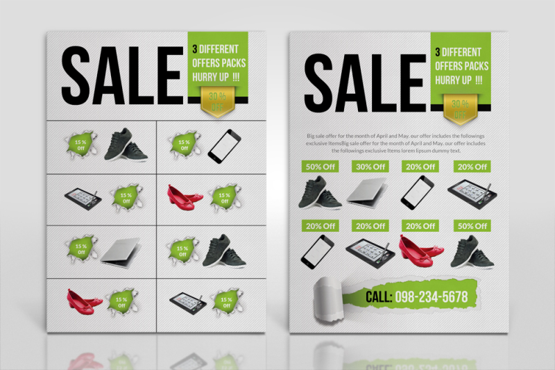 double-sided-product-flyers-ads