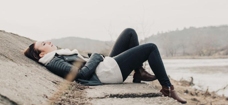 woman-resting