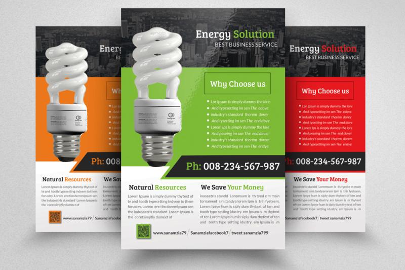 energy-saving-flyer