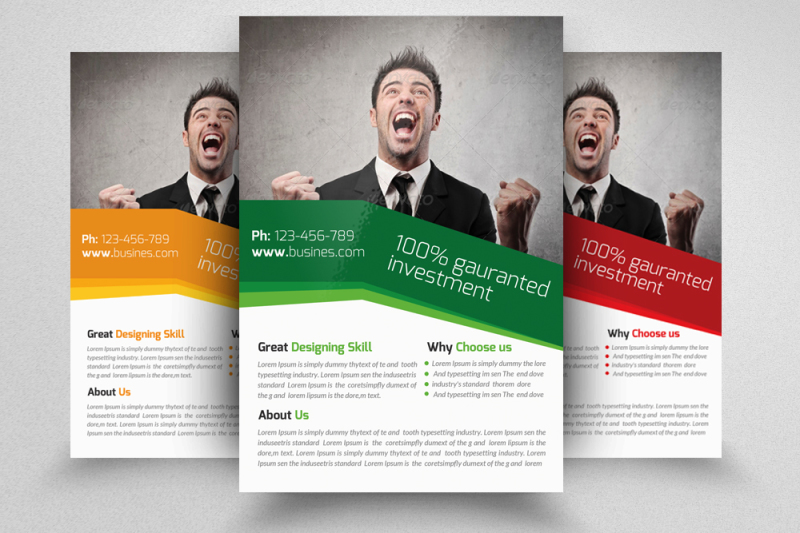 business-marketing-consultant-flyers