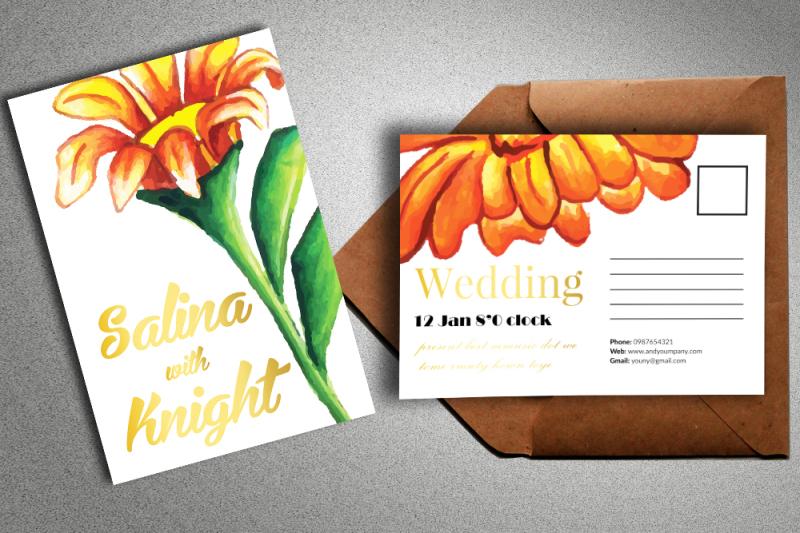 Free Invites & Postcard Mock Ups (PSD Mockups)