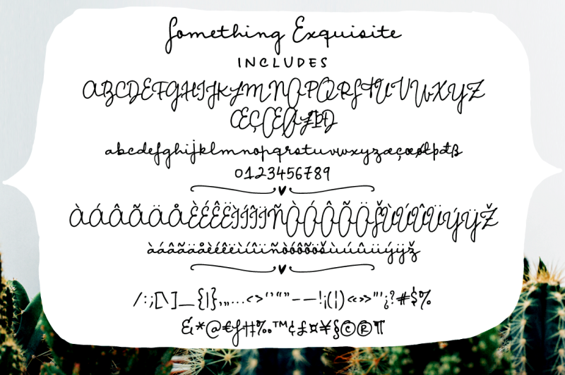 something-exquisite-a-script-font