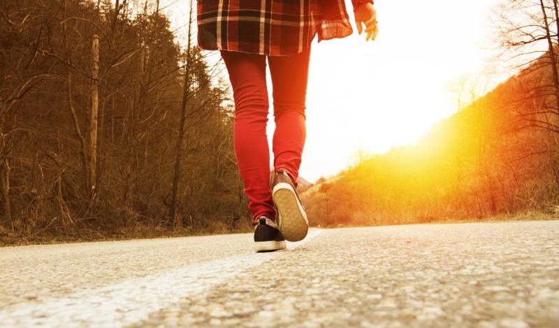road-walking
