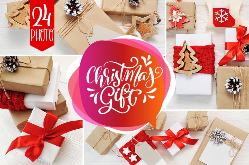 Free Christmas Gift Collection (PSD Mockups)