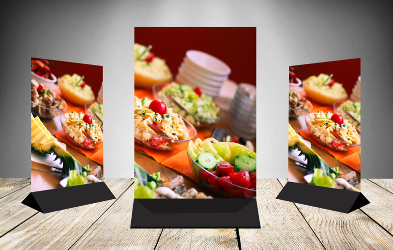 Free Table Tent Mock up (PSD Mockups)