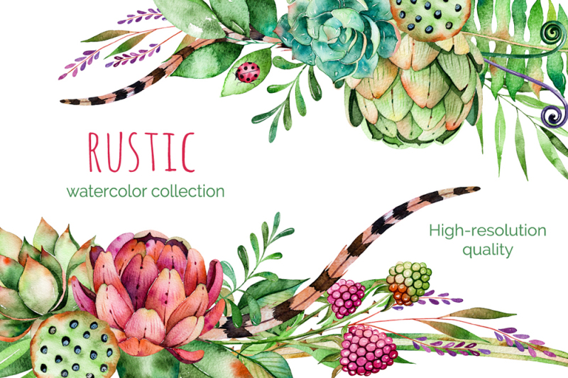 rustic-watercolor-collection