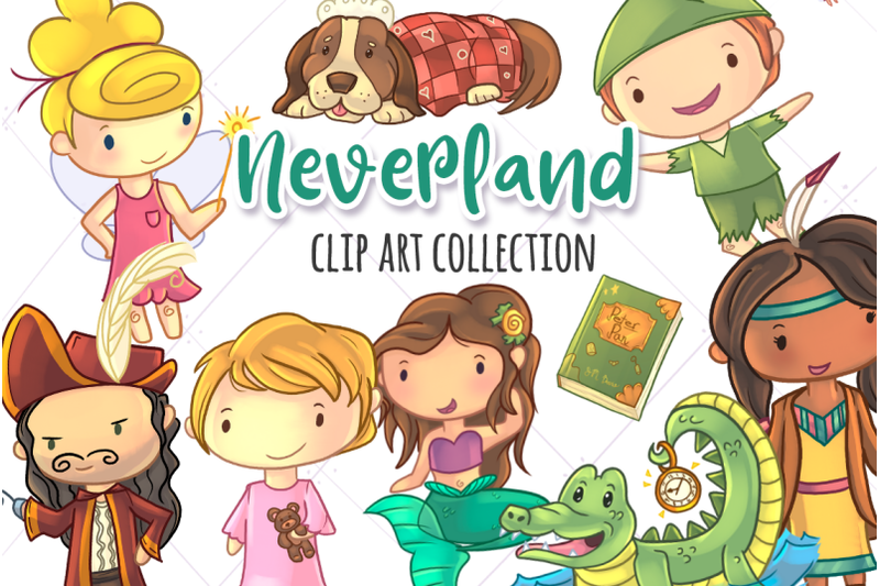 neverland-story-book-collection