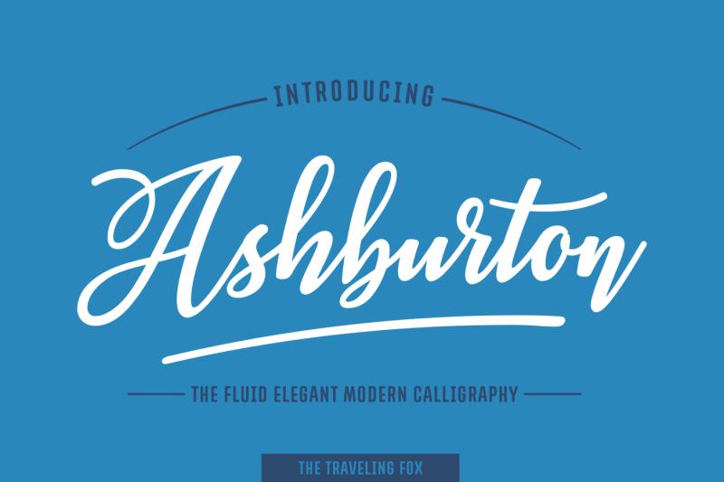 ashburton-decorative-script