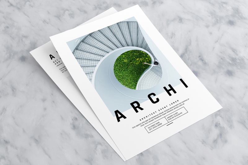 minimal-event-flyer