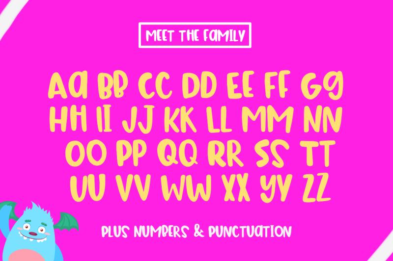 the-bouncy-font-bouncy-fonts-fun-fonts-handwritten-fonts