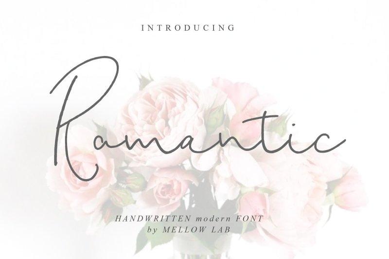 romantic-script