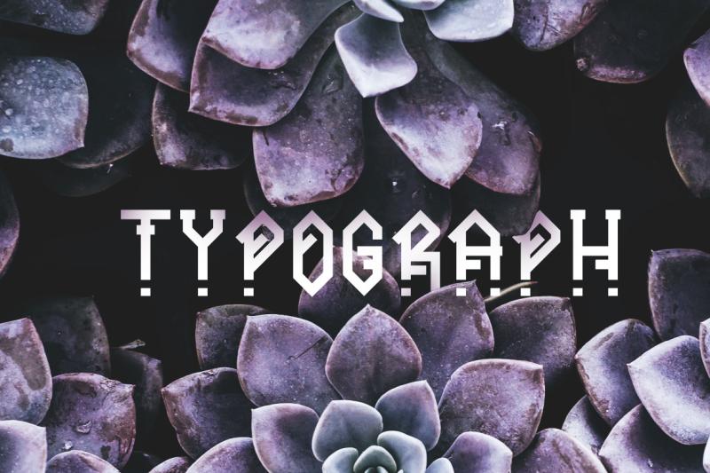 ornacle-futuristic-font
