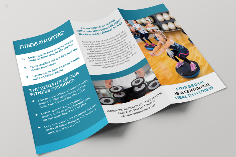 fitness-trifold-brochure