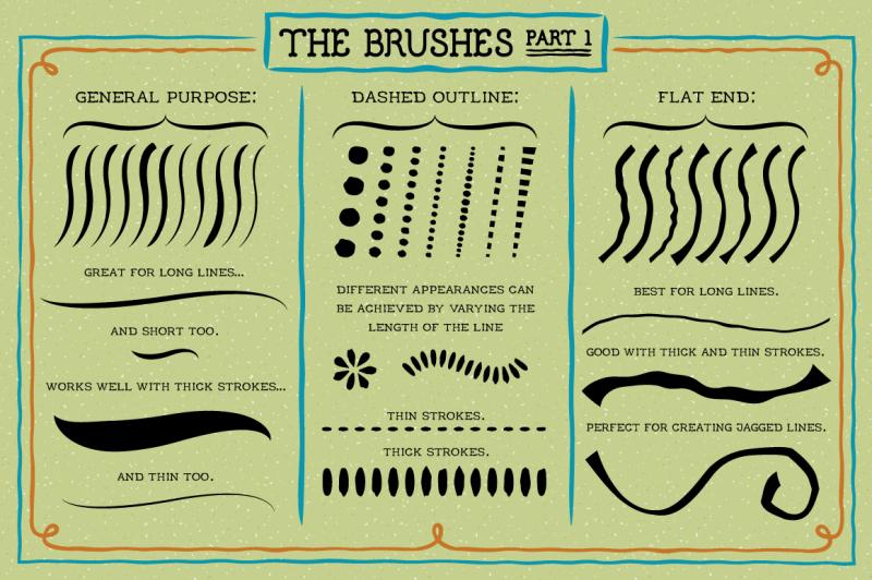 outline-brushes