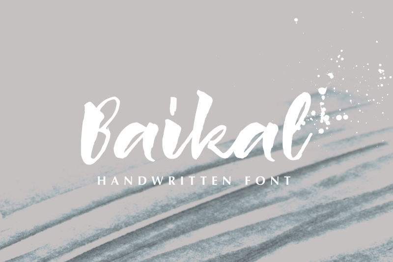 baikal-handwritten-font-with-bonus