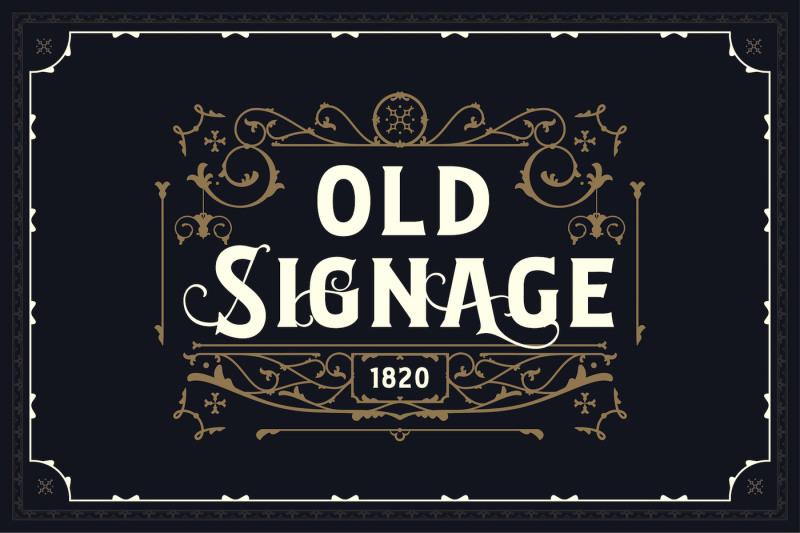 bignord-vintage-typeface