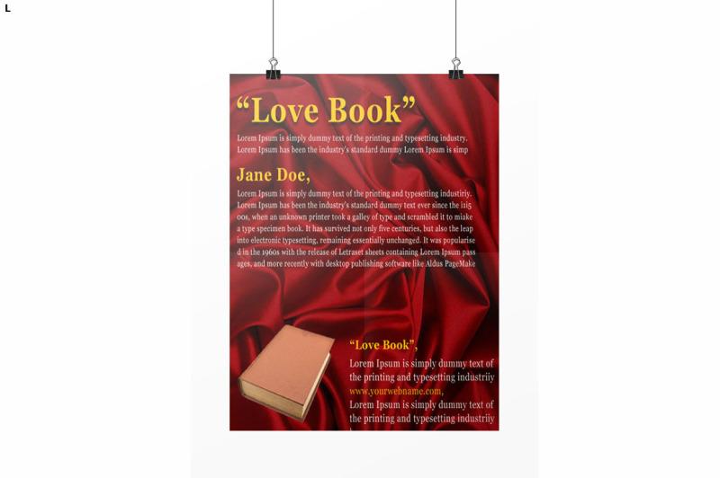 book-flyer-template
