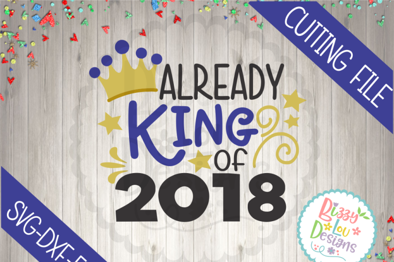 king-of-2018-svg-dxf-eps-cutting-file