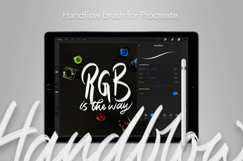 handflow-procreate-brush