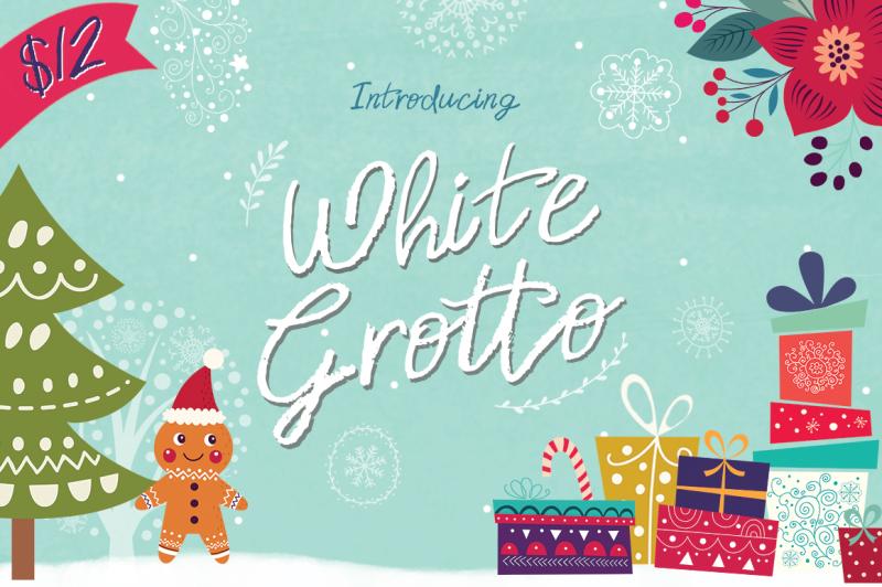 white-grotto-font