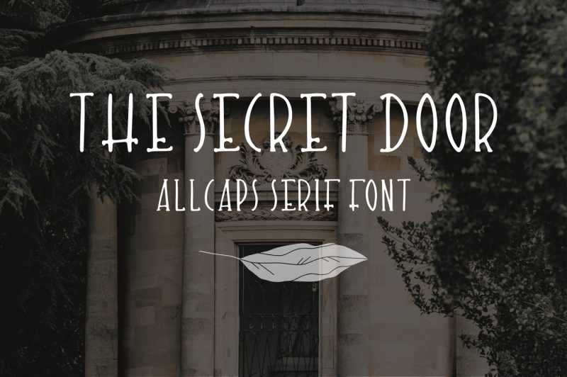 the-secret-door-cute-hand-drawn-font