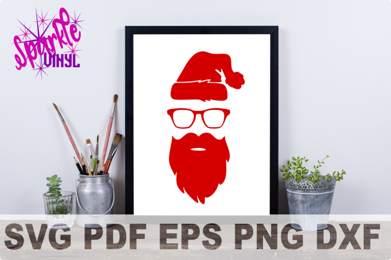 svg-hipster-christmas-santa-shirt-sign-stencil-decal-printable-or-svg-cut-file-dxf-eps-png-pdf-for-cricut-or-silhouette