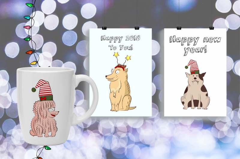 dog-s-christmas-and-new-year