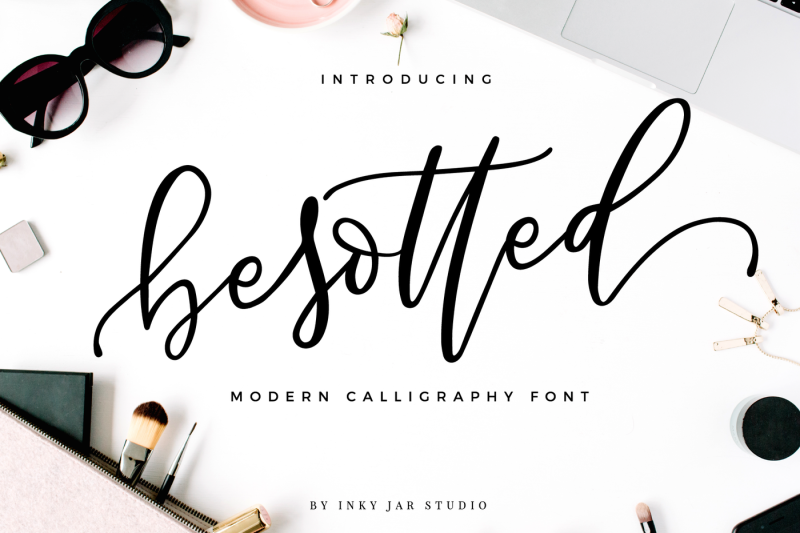 besotted-modern-calligraphy-script
