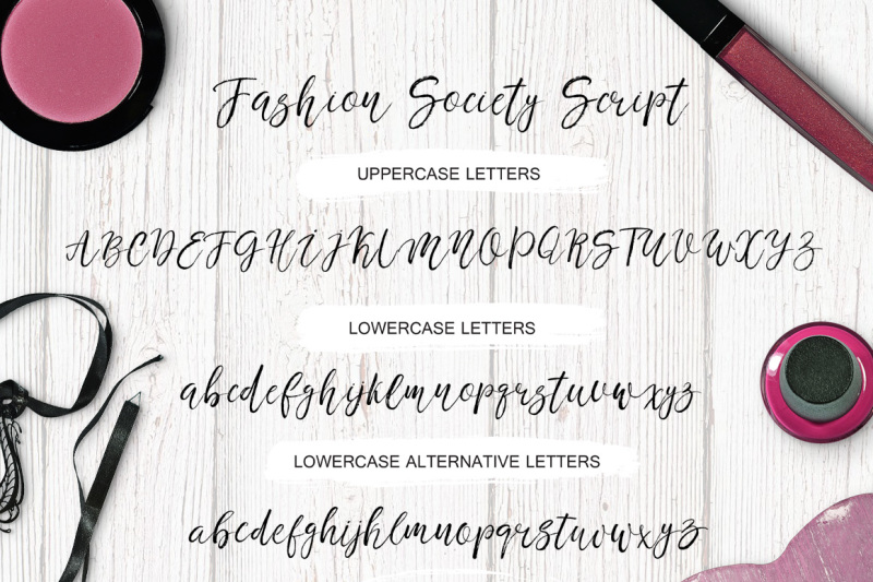 fashion-society-handwritten-font