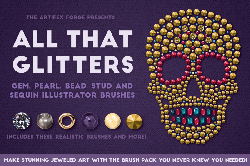 all-that-glitters-vector-brushes