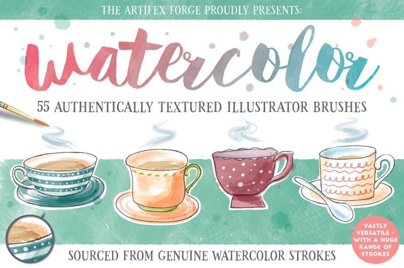 watercolor-brushes