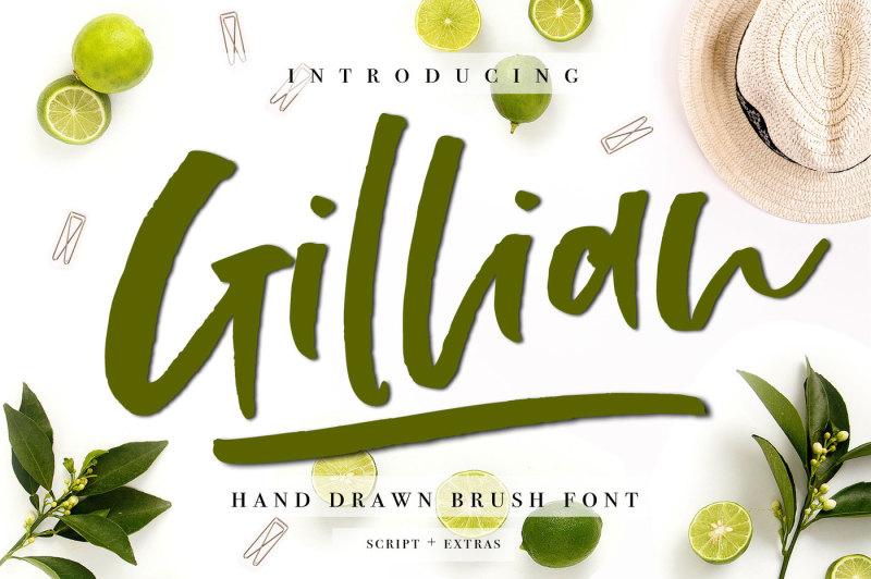 gillian-font-extras