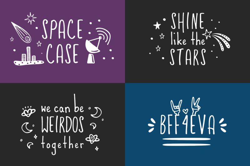 friends-and-aliens-font