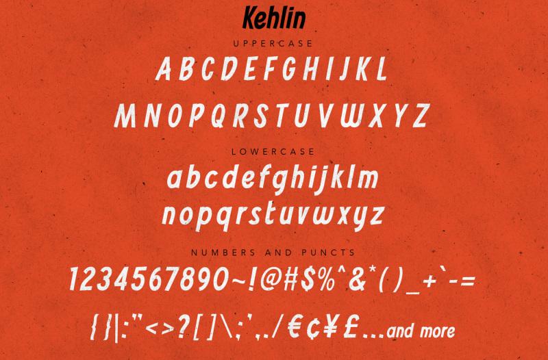 kehlin-vintage-casual-font