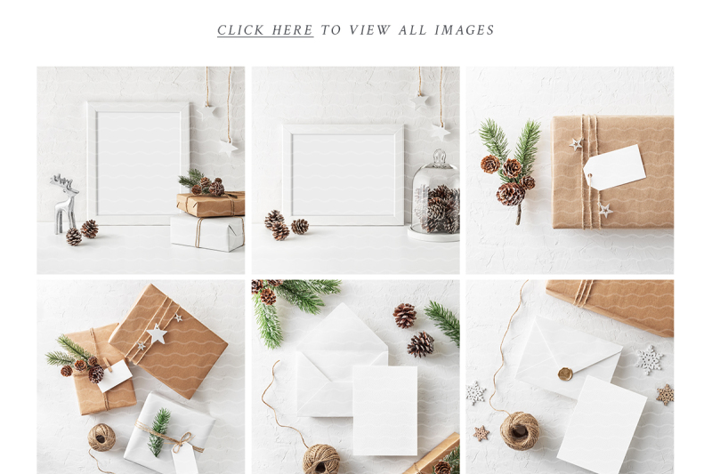 Download Christmas Card Mockup Free Download Yellowimages