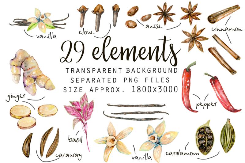 spices-watercolor-clip-art
