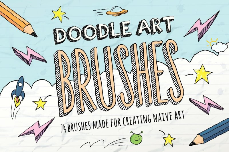 doodle-brushes