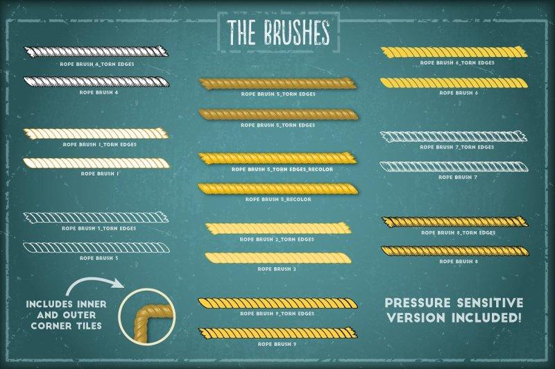 rope-brushes