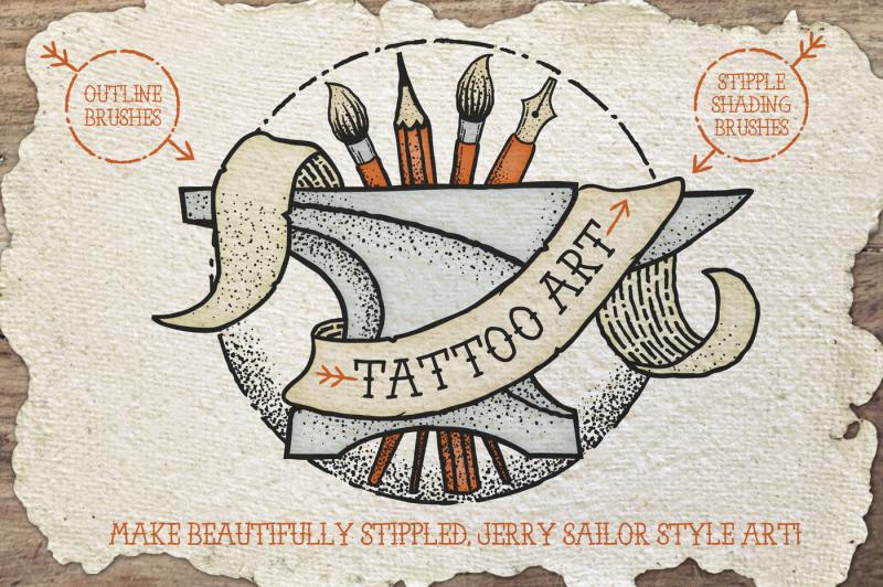 tattoo-style-art-brushes