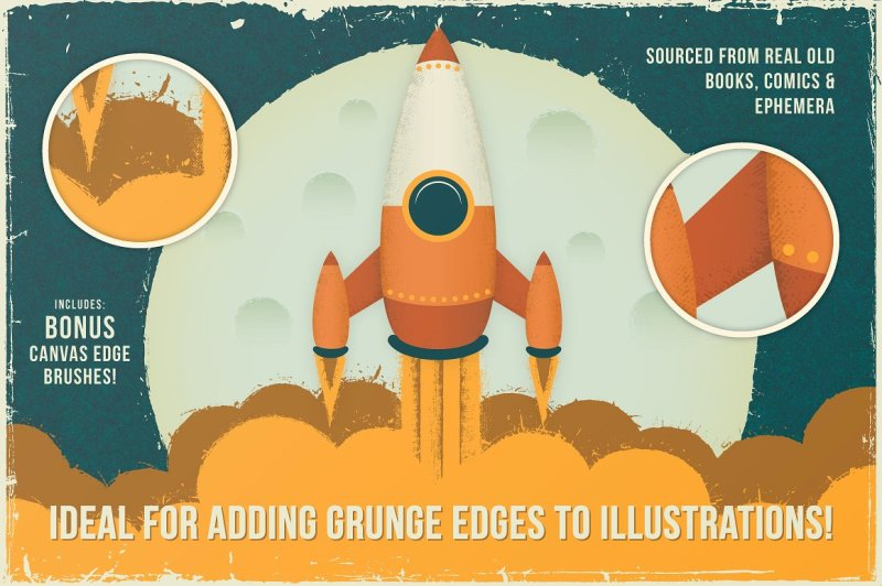 vintage-vector-edge-brushes