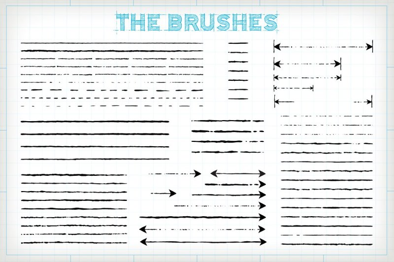 technical-drawing-brushes