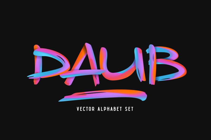 daub-alphabet
