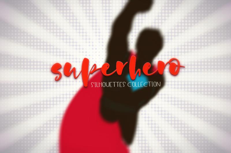 superhero-silhouettes-collection