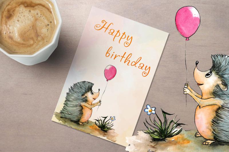 hand-drawn-watercolor-birthday-card