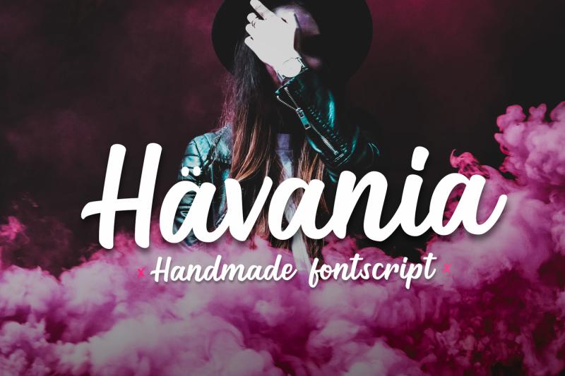 havania-font-script