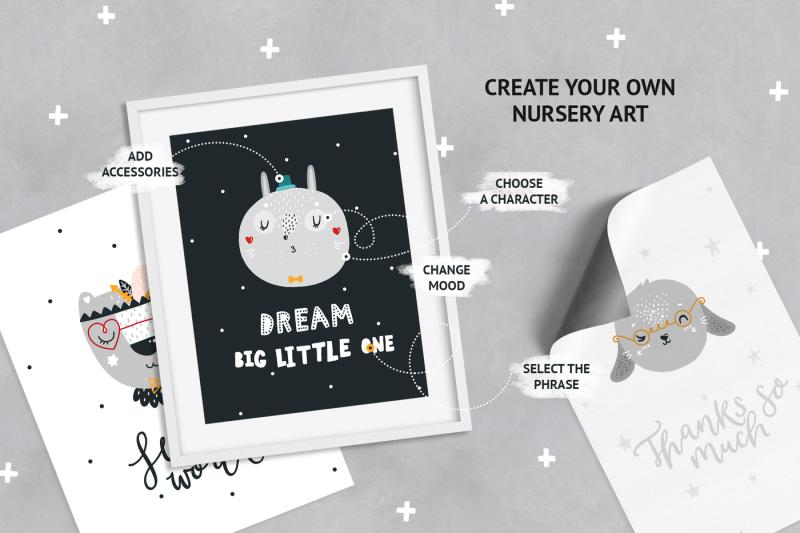 nursery-art-creator-cute-animals