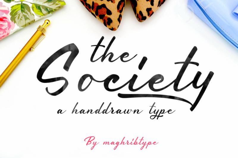 society-typeface