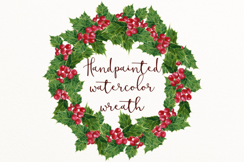 holly-wreath-png
