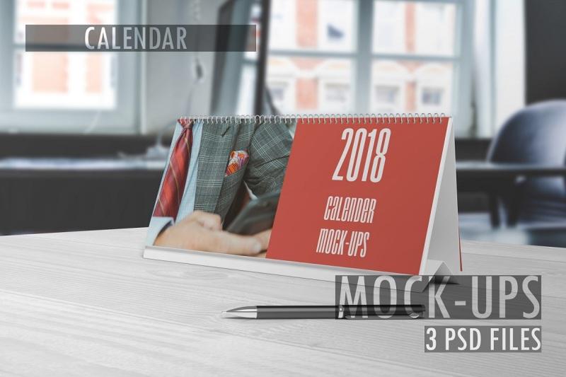 Free Calendar Mockups (PSD Mockups)