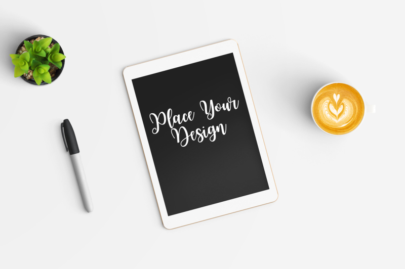 Free Tablet Mock Up-04 (PSD Mockups)